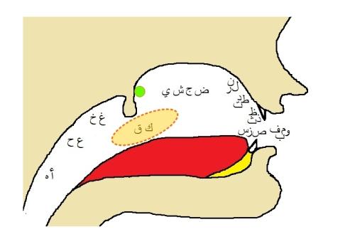 Makharij - Lahatiyah