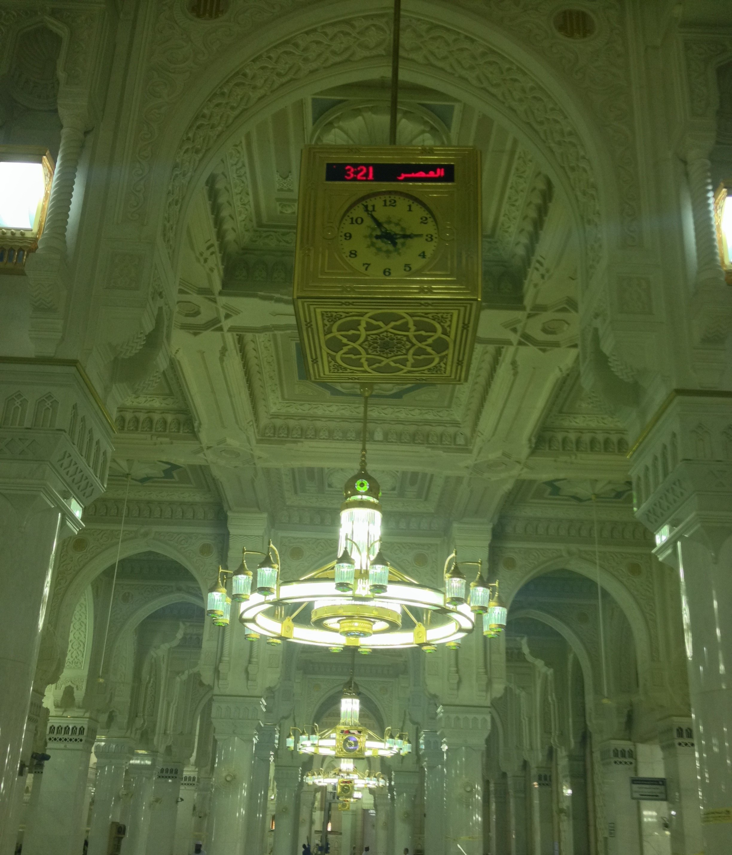 Masjid e Haram Big Lantern