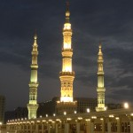 Masjid e Nabvi Roof Night 2
