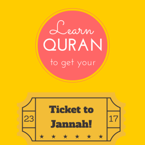 Learn Quran - Get Jannah Ticket - Big